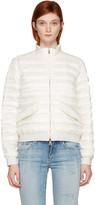 Moncler Ivory Down Violette Coat