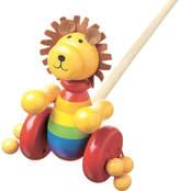 Orange Tree Toys Push Along wooden lion