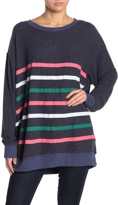 Wildfox Couture Multi Stripes Roadtrip Sweatshirt