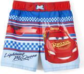 Dreamwave Apparel Boys' Board Shorts - Cars 'Lightning McQueen' Checker Board Shorts - Toddler