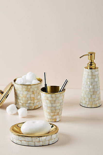 Anthropologie Enzo Bath Collection