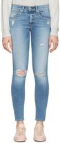 Rag & Bone Indigo Capri Jeans