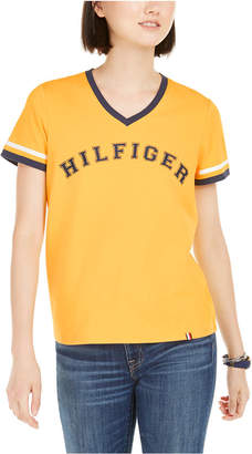 Tommy Hilfiger V-Neck Graphic T-Shirt