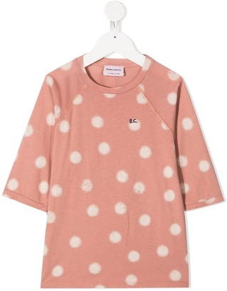Bobo Choses logo polka dot organic cotton T-shirt