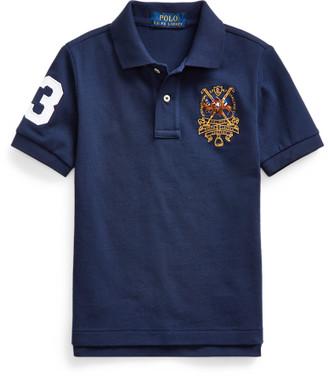 Ralph Lauren Polo Players Cotton Mesh Polo