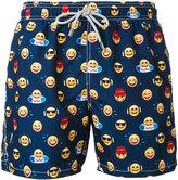 MC2 Saint Barth emojis print swim shorts - men - Polyamide/Polyester/Spandex/Elastane - S