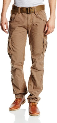 Schott NYC Men's Trbatle70pkr Trousers