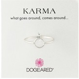 Dogeared Tiny Sparkle Karma Circle Ring