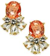 Charter Club Multi-Crystal Drop Earrings, Created for Macy's