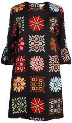 La DoubleJ Block Flower 24/7 Dress