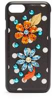 Dolce & Gabbana Floral crystal-embellished iPhone® 6 case