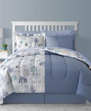 Sunham Fairfield Square Bluffton 8Pc California King Comforter Set Bedding