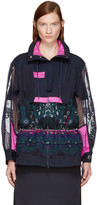Sacai Navy Tribal Lace Jacket