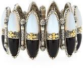 Konstantino Thetis Two-Tone Agate Cuff Bracelet
