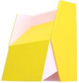 Holzshine - Yellow Brass Frame Adjustable Floe Lamp - yellow - Yellow/Yellow