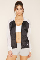 Forever 21 FOREVER 21+ Active Colorblock Jacket