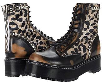 Steve Madden Avenger Boot (Leopard Multi) Women's Boots