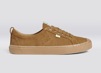 Cariuma OCA Low All Camel Suede Sneaker Women