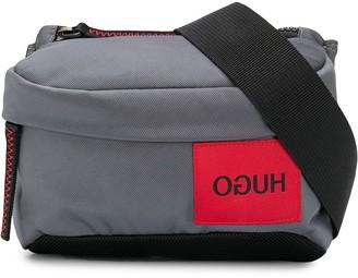 HUGO BOSS logo-patch belt bag