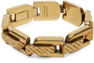 Balenciaga Precious Antique Goldtone Lo-Link Bracelet