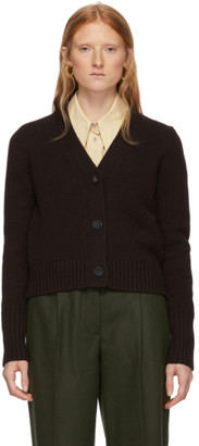 Studio Nicholson Brown Rankine Cardigan