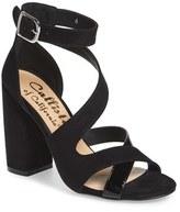 Callisto Women's 'Dinah' Crisscross Ankle Strap Sandal