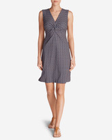 Eddie Bauer Women's Aster Tie The Knot Dress - Print
