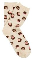F&F Hedgehog Ankle Socks, Women's