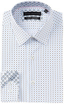 Report Collection Oxford Polka Dot Slim Fit Dress Shirt