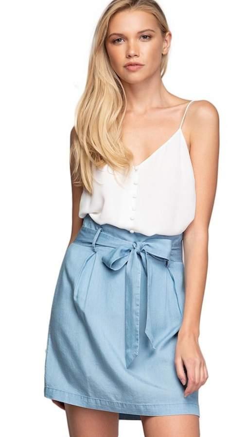 93b600c6ad3050 Chambray Skirt - ShopStyle Australia