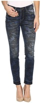 Jag Jeans Rochelle Slim Ankle Jeans in Camo Denim