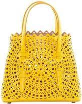 Alaia Open Circle Weave Mini Bag