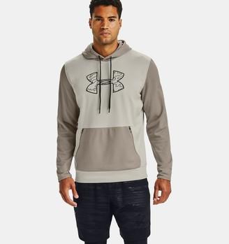 Under Armour Men's Armour Fleece Textured Big Logo Hoodie