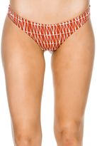 RVCA Triangle Row Cheeky Bikini Bottom
