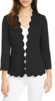 Ted Baker Furna Scalloped Jacket