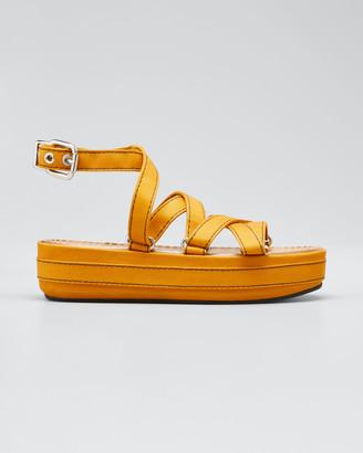 Marni Adventurer Platform Ankle Sandals