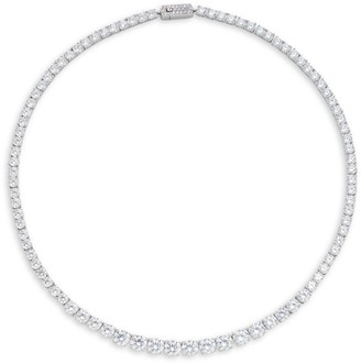 Adriana Orsini Crystal Floral Necklace