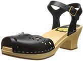 Swedish Hasbeens Women's Singoalla Peep Toe Platform Sandal