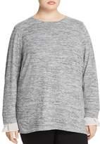 Junarose Diwya Ruffle-Cuff Sweater