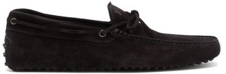 Tod's Gommino Suede Driving Shoes - Black