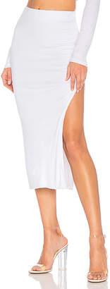 Cotton Citizen Melbourne Midi Skirt With Slit