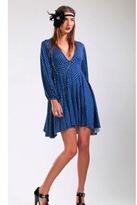 Rachel Pally Claudia Print Dress in Midnight/Granite