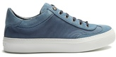 Jimmy Choo Ace Low-top Canvas And Suede Trainers