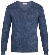 Etro Paisley-jacquard Cotton Sweater