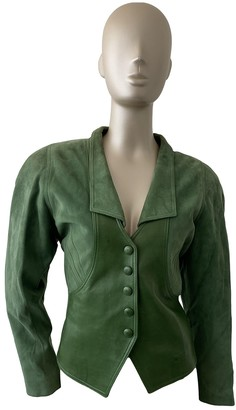 Jitrois Green Suede Jackets