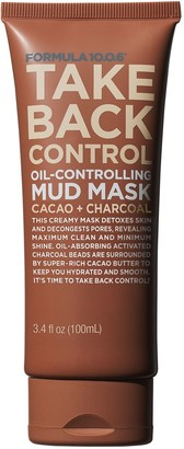 FORMULA 10.0.6. Take Back Control Cacao + Charcoal Oil-Controlling Mud Mask