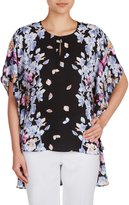 Peter Nygard Nygard Woen's Regular Kiono Pullover Blouse