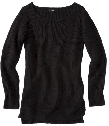 Mossimo Women's Plus-Size Long-Sleeve Sweater - Assorted Colors