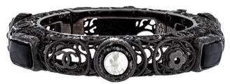 Chanel Filigree Bangle Bracelet