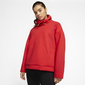 Nike Women's Funnel-Neck Training Pullover
